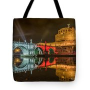 St Angel Castel Tote Bag