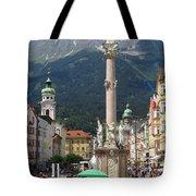 St. Anne's Column Tote Bag