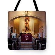 St. Ann's Church Of Tubac Arizona Tote Bag