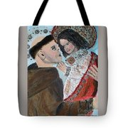 St. Anthony In Amazement Tote Bag