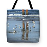 St. Augustine Beach Tote Bag