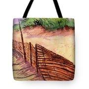 St. Augustine Beach Tote Bag