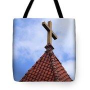 St. Augustine Cross 2 090118 Tote Bag