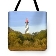 St. Augustine Light House Tote Bag