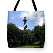 St. Augustine Light In Florida Tote Bag