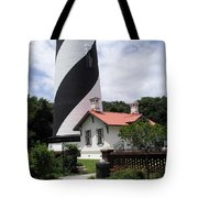 St. Augustine Light On The East Coast Of Florida Tote Bag