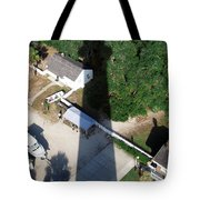 St. Augustine Lighthouse Shadow Tote Bag