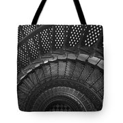 St. Augustine Lighthouse Spiral Staircase I Tote Bag