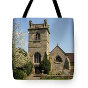 St Bartholomew's Church - Moreton Corbet Tote Bag