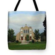 St. Basil's Church Utica, Ny Tote Bag