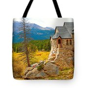 St. Catherine's Church In Autumn Tote Bag