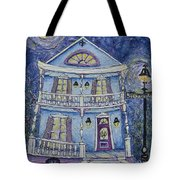 St. Charles Blue House Tote Bag