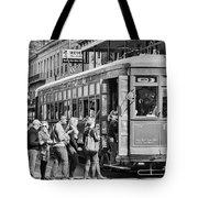 St. Charles Streetcar Tote Bag