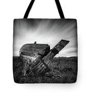 St Cyrus Wreck Tote Bag