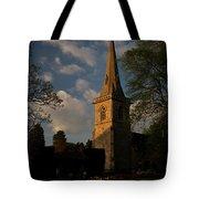 St Davids Church At Sundown Tote Bag