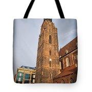 St. Elizabeth's Church Tower In Wroclaw Tote Bag