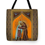 St. Francis And The Sultan - Rlsul Tote Bag