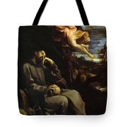 St Francis Consoled Tote Bag