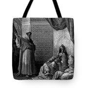 St Francis Of Assisi 1877 Tote Bag