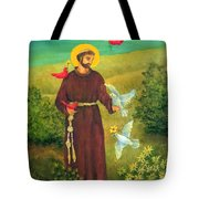 St. Francis Of Assisi Tote Bag