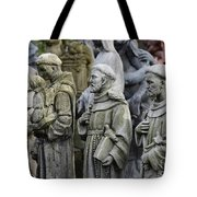 St Francis Statues Tote Bag