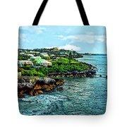 St. George Bermuda Shoreline Tote Bag