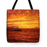 St. George Island Sunset Tote Bag