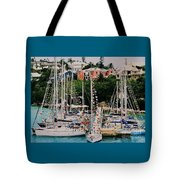 St. George's Yacht Club Bermuda Tote Bag
