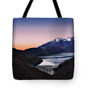 St Helens After Sunset Tote Bag