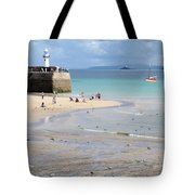 St. Ives, Harbour Beach Tote Bag