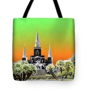 St. James Cathedral New Orleans Tote Bag