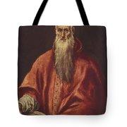 St Jerome As Cardinal Tote Bag