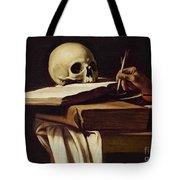 St. Jerome Writing Tote Bag