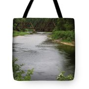 St Joe Bridge Tote Bag