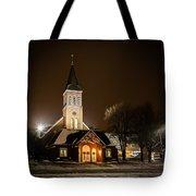 St Joes Church Mandan 6 Tote Bag