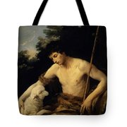 St John The Baptist In The Wilderness 1625 Tote Bag