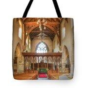 St John The Baptist Penshurst Interior Tote Bag