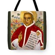 St. John Xxiii - Rlpjn Tote Bag