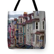 St Johns In Newfoundland Tote Bag