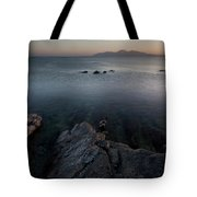 St John's Point ,blue Water  Tote Bag
