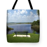 St Johns River In Florida Tote Bag