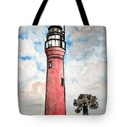 St Johns River Lighthouse Florida Tote Bag