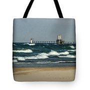 St. Joseph Mi Lighthouse Tote Bag