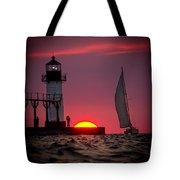 St. Joseph Michigan Sail Tote Bag