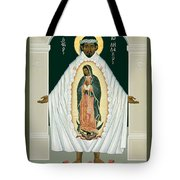 St. Juan Diego And The Miracle Of Guadalupe - Rljdm Tote Bag