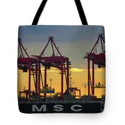 St Lawrence Sunset 2 Tote Bag