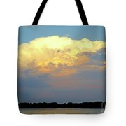 St Lawrence Sunset 4 Tote Bag