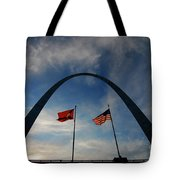 St Louis Arch Metal Gateway Landmark Tote Bag