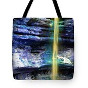 St. Louis Canyon Liquid Gold Tote Bag