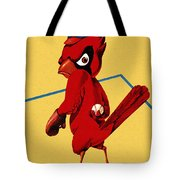 St. Louis Cardinals Vintage 1956 Program Tote Bag